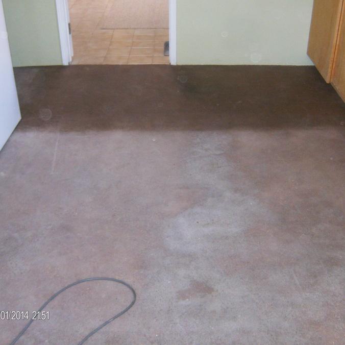 Adobe Floor - Before