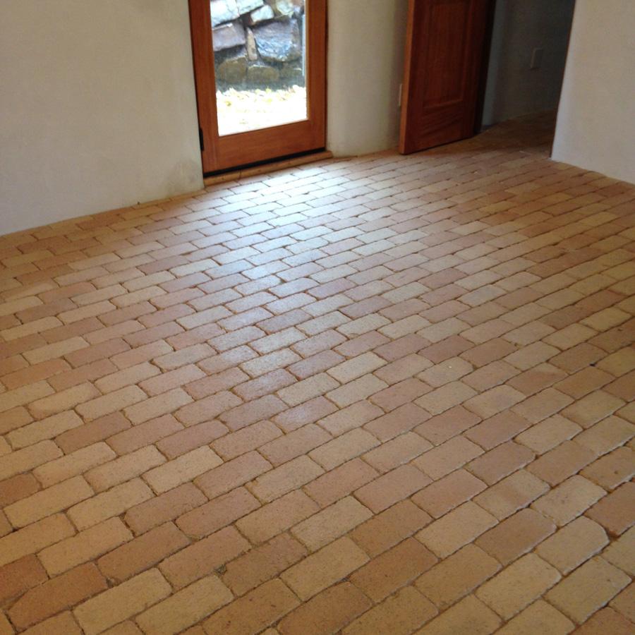 Brick Floor - After