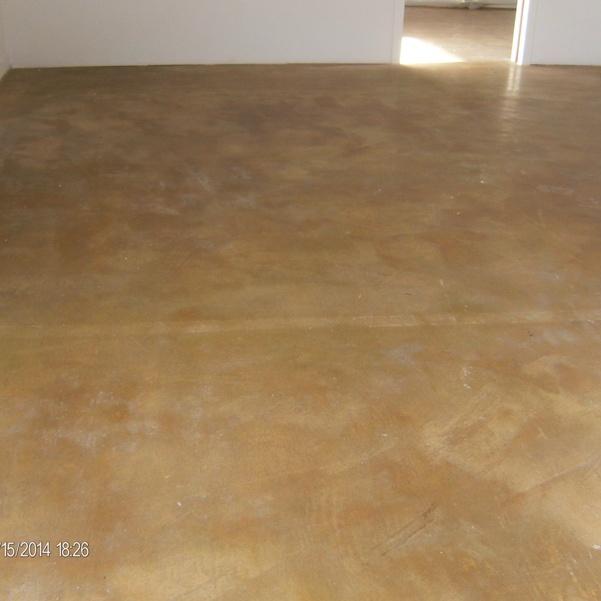 Concrete Floor - Before