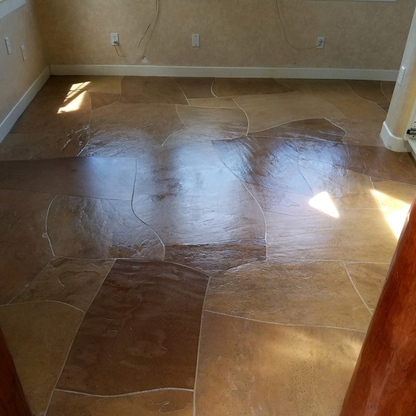 Flagstone Floors - After