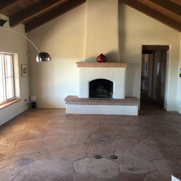 Flagstone Floors - Before