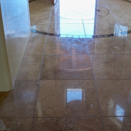 Stone Floor - After