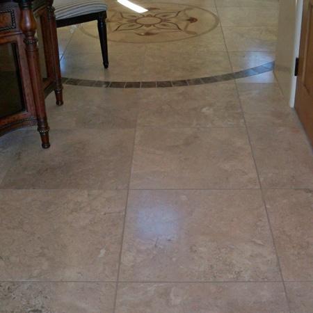 Stone Floor - Before