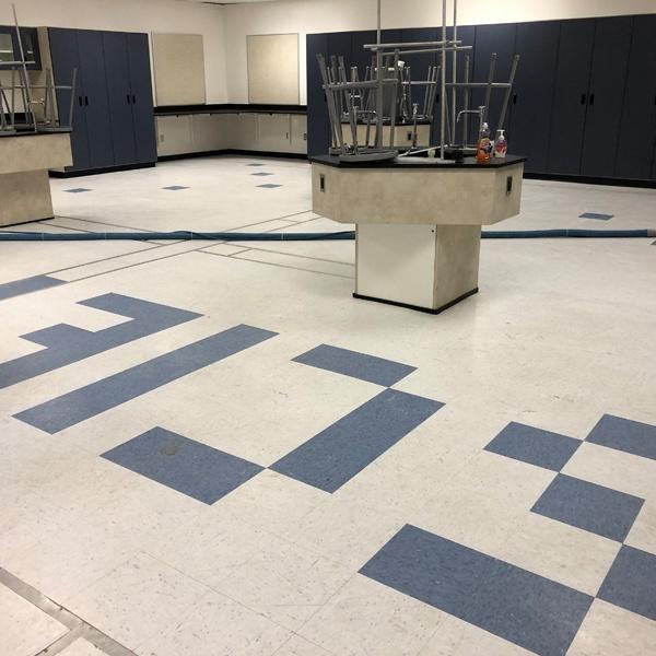 VCT Floor - Before
