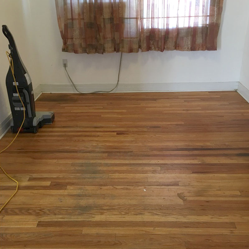 Wood Floor - Before