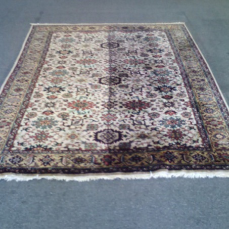 Rug - before & After